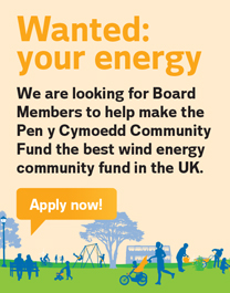 Vattenfall starts recruitment for board members for the Wales's largest community energy fund