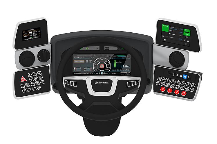 Continental presents bus tires, electronics, fleet management and instrumentation solutions, as well as ergonomics at Busworld in Kortrijk, Belgium