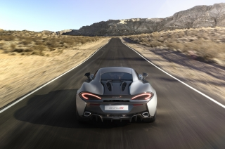 McLaren Monaco: Premiere of the 570S Coupé at French Riviera Classic motor show in Nice, France