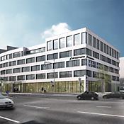 STRABAG Real Estate feiert Fertigstellung des Rohbaus für ersten Bauabschnitt der HEINRICH VON STEPHAN BUSINESSMILE