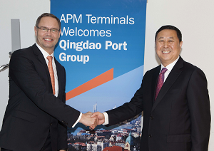 APM Terminals Global Terminal Network enters China's fastgrowing grain import market as part of joint venture with Qingdao Port International