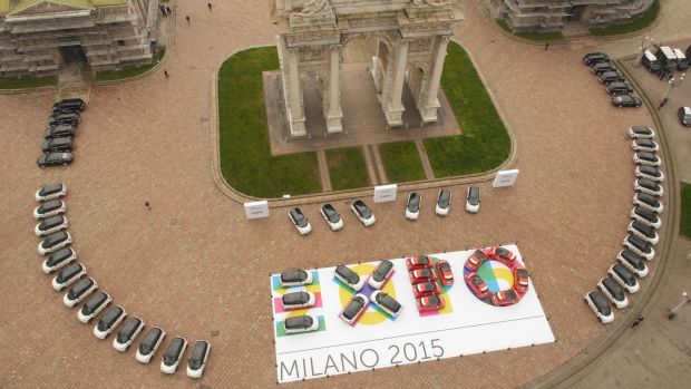 FCA and CNH Industrial supplied a fleet of cars and a significant, structured communication plan for Expo Milan 2015