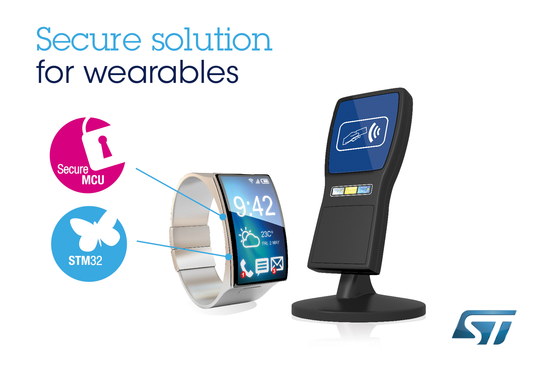 New product-development ecosystem from STMicroelectronics simplifies adding stronger security for mobile transactions