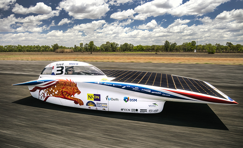 Sikkens Coated Solar Car Won In This Year S Bridgestone World