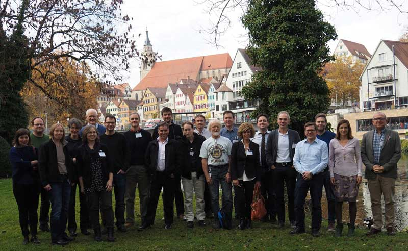 "Kick off in Tübingen: ""switchBoard – In the Eye of the Observer: Visual Processing at the Heart of the Retina"". Photo: Thomas Euler"