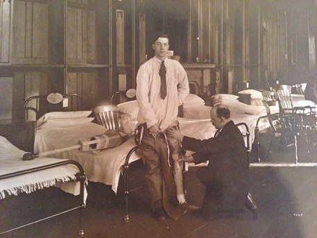 University of Glasgow: Historical documents and artefacts for Erskine Hospital history recovered and catalogued