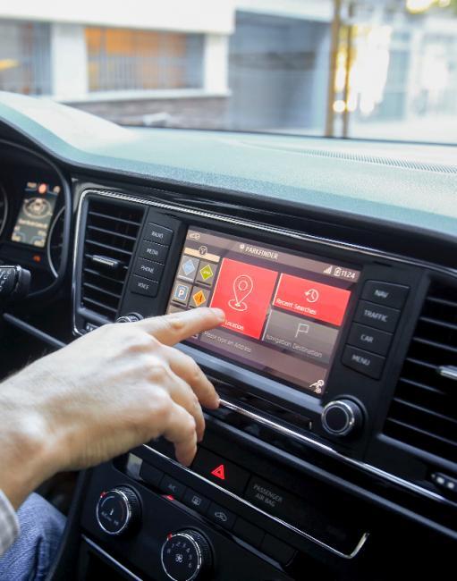 Urban mobility: SEAT developed parking finder app relying on data gathered via Barcelona's iCity platform