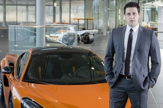 Andreas Bareis appointed Managing Director, Middle East and Africa McLaren Automotive