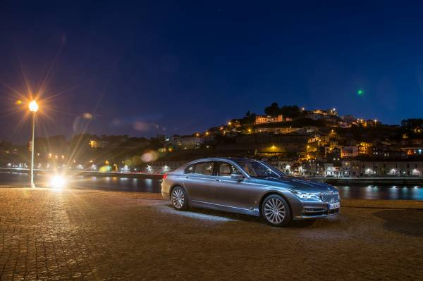 The new BMW 750Li xDrive (08/2015).