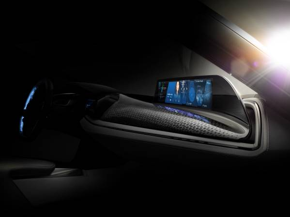 BMW Group @ CES 2016, Vision Car Interior and User-Interface of the future