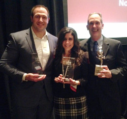 DLL HR team won the HR Award for Excellence in Employee Relations at the 18th annual Delaware Valley Human Resources Department of the Year awards