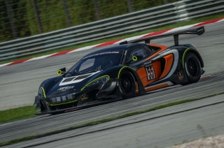 McLaren 650S GT3 claims class victory and 4th place overall at Sepang 12 Hours