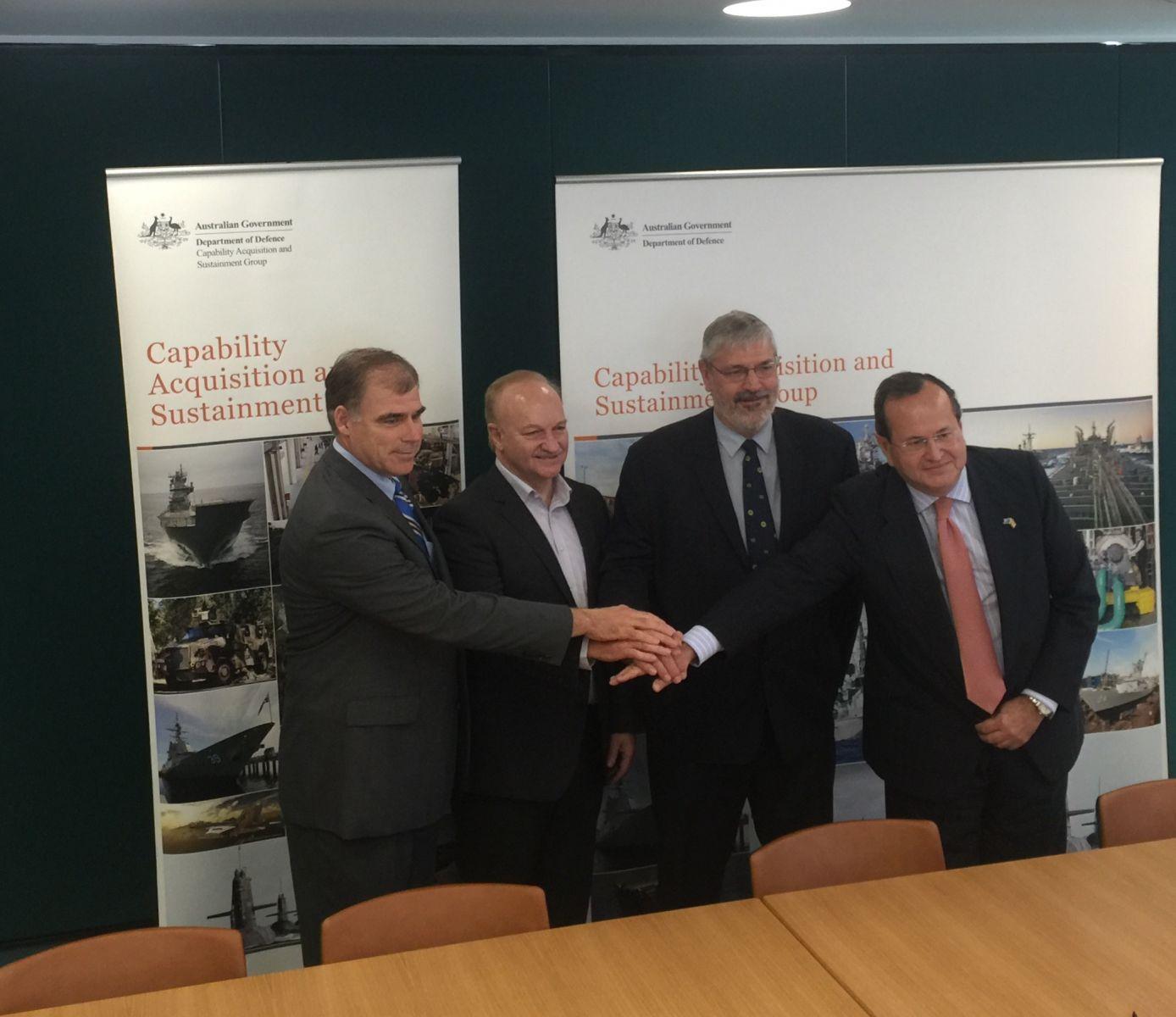 Navantia signs contract with Australian shipbuilder ASC