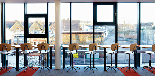 Sapa: London's Pegasus Academy's Whitehorse Manor features aluminium glazing systems from the Technal brand