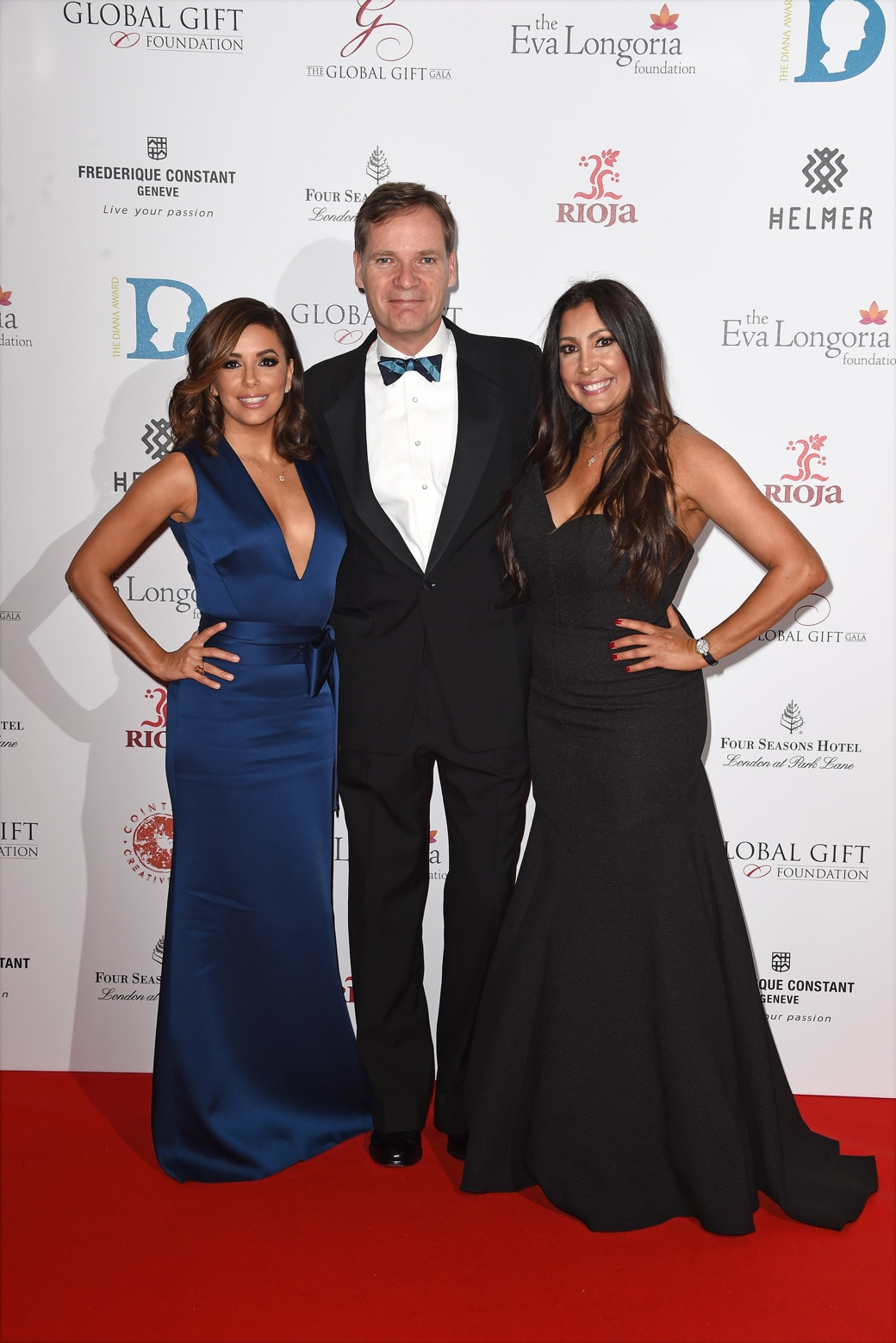 Eva Longoria attends the 6th edition of The Global Gift Gala at the Four Seasons Hotel London at Park Lane with Eva Longoria as Honorary Chair.