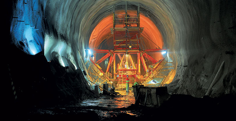 VINCI Construction Grands Projets, Skanska succeeded in building Sweden's most challenging railway project the Hallandsås tunnels