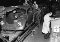 Mass production of the Volkswagen Saloon