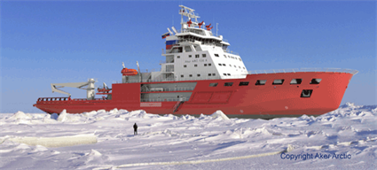 Wärtsilä generating sets to power two new Aker Arctic designed icebreakers under construction in Russia