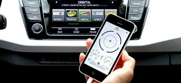 ŠKODA is the recipient of the Connected Car Award 2015 in the 'Pioneer-Award' category