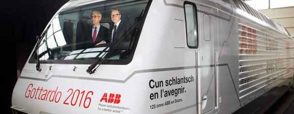 ABB main partner of the longest rail tunnel in the world the Gotthard Base Tunnel