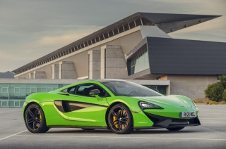 McLaren Automotive at the Brussels Motor Show 2016