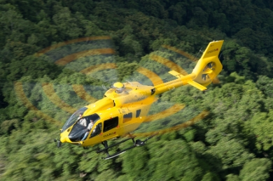 H145 in flight (Ref. EXPH-1559-5_A4, © Copyright Ned Dawson).