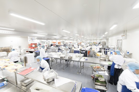 Royal Philips provides LED lighting to flight catering services company LSG Sky Chefs