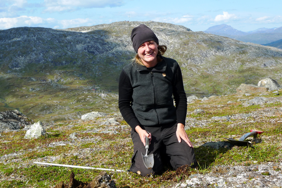 Umeå University doctoral student Marina Becher: soil frost important for the release of the greenhouse gas carbon dioxide from arctic soil