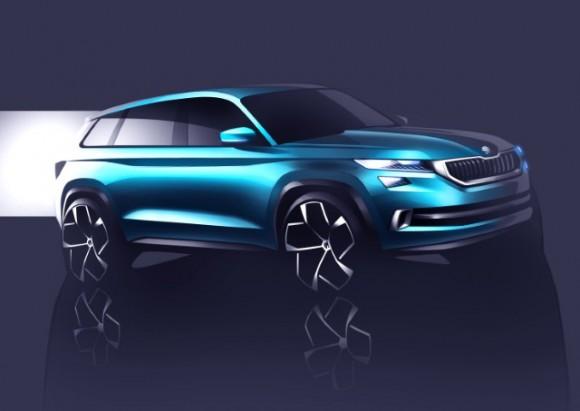 ŠKODA to showcase its SUV vision at the 2016 Geneva International Motor Show