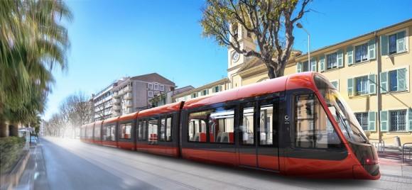 Alstom unveils design of Citadis trams for the East-West line of Nice Côte d'Azur Metropole
