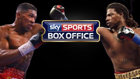 Anthony Joshua MBE vs. Charles Martin for the IBF world title live on Sky Sports Box Office on 9 April at The O2