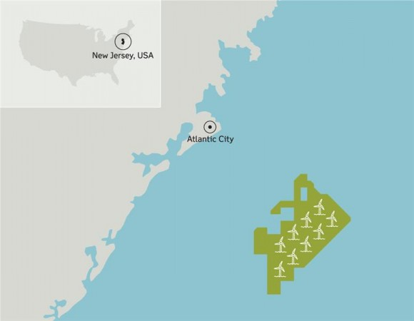 DONG Energy to take over RES Americas Developments Inc.'s development project rights off the coast of New Jersey