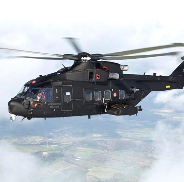 Finmeccanica's first AgustaWestland AW101 for the Italian Air Force now operational