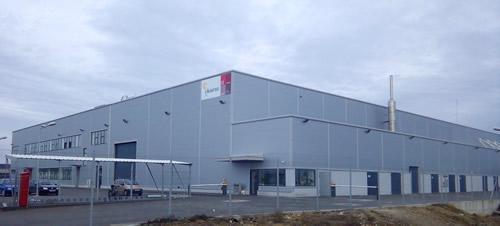 MONDRAGON's Cikautxo cooperative invested 8 million euros in new plant in Romania