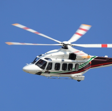 26 AgustaWestland AW189 super medium twin engine helicopters exceeded 10,000 flight hours