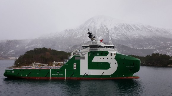 BOURBON takes delivery of the Bourbon Arctic from the Vard Brattvåg shipyard (Norway)