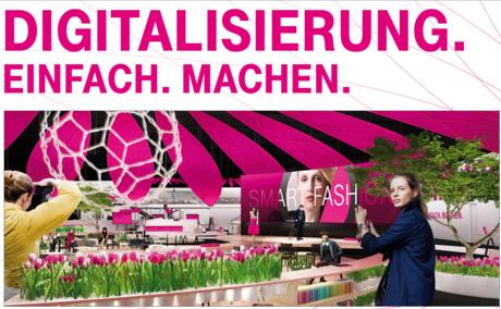 Deutsche Telekom presents at CeBIT, March 14-18 in Hanover