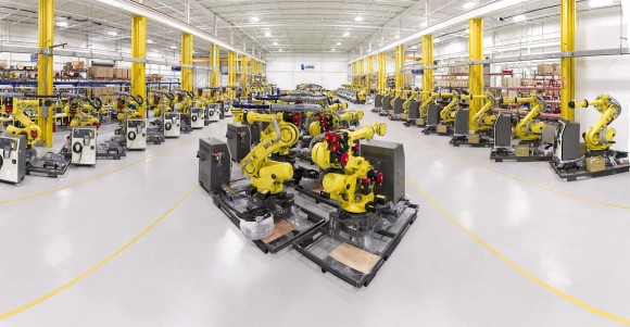 For growth in the region Americas, Leoni counts among others on the production site in Lake Orion (USA) that transforms a machine into process robots ready for integration by means of complex cable assemblies.