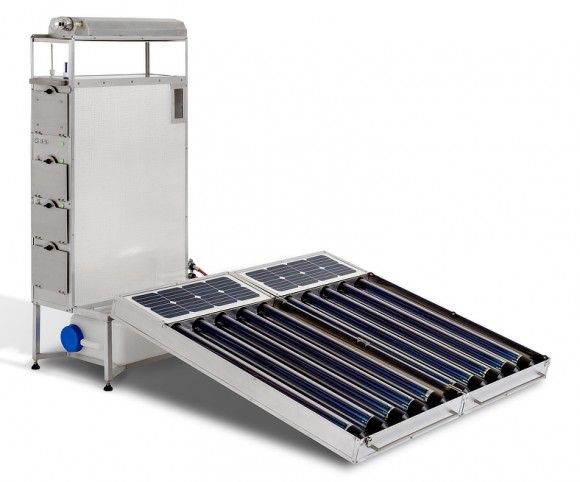 LifeShift Sterilizer: solar-powered sterilization device