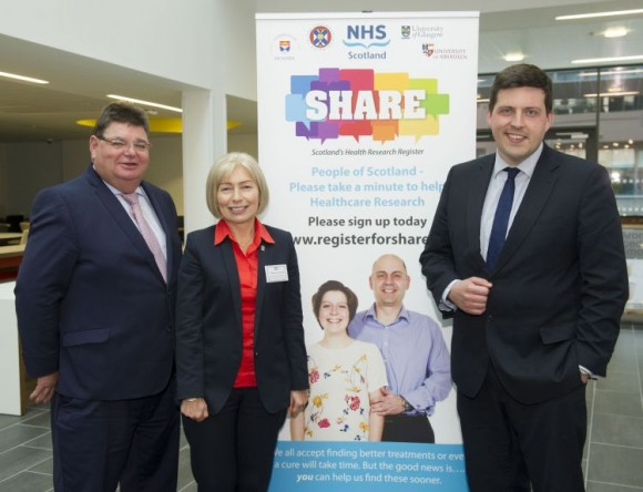 The Scottish Health Research Register (SHARE) announced its 100,000th volunteer