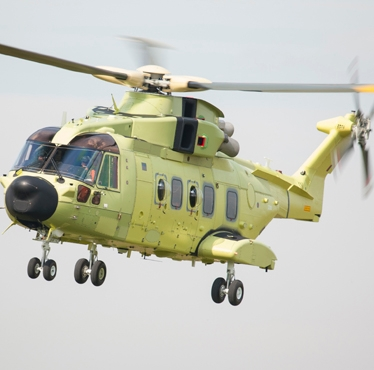 Finmeccanica: the first of 16 AgustaWestland AW101 helicopters for the Norwegian Ministry of Justice and Public Security (MoJ) successfully performed its maiden flight