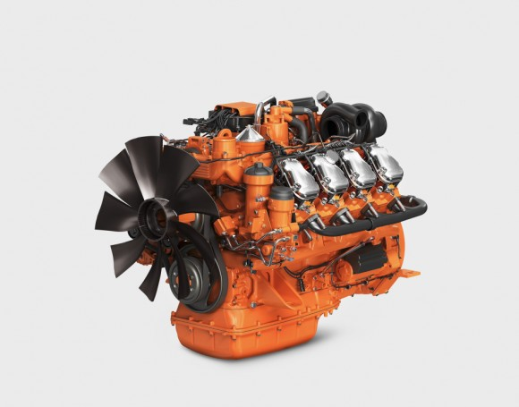 Scania Industrial inline engine 16-litre, tier 4 final, stage IV. Illustration: Scania 2012