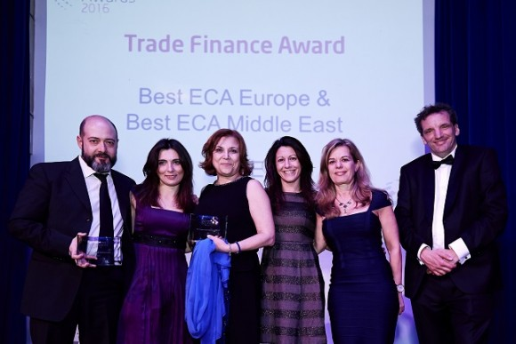 CDP group's SACE honored as the best export credit agency in Europe and the Middle East by Trade Finance Magazine