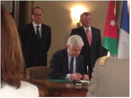 Egis signs agreement with Jordanian government for improvement of drinking water supply in North of Jordan