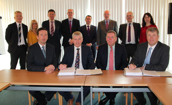 GRAHAM-BAM Healthcare Partnership contract signing