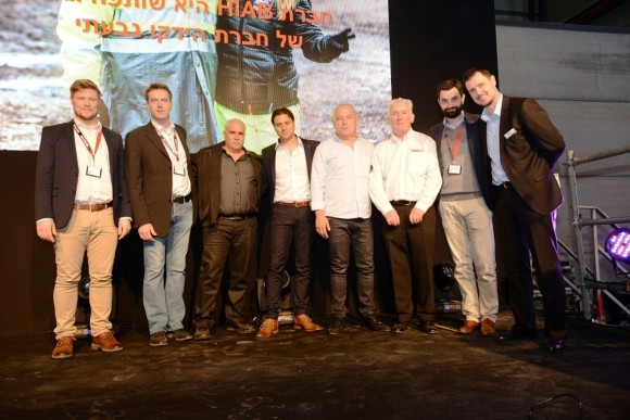 Hiab and its longstanding dealer in Israel expand their customer service centre to over 10,000 square metres