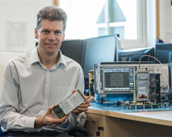 Leading UK wireless technology company CommAgility won a Queen's Award for Enterprise in Innovation