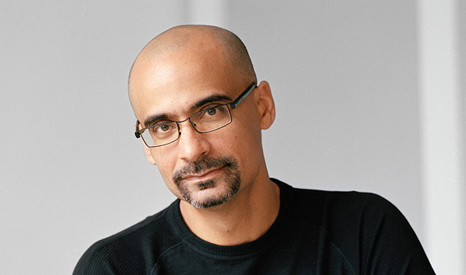 Photograph of Junot Díaz by Nina Subin