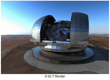 Astaldi led consortium signs EUR 400 million contract for the Dome and of the Main Structure of the European Extremely Large Telescope
