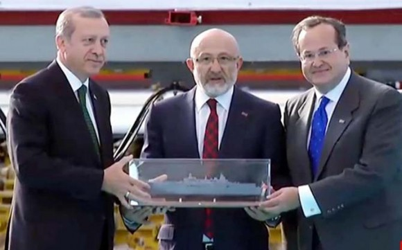 Astillero turco SEDEF inicia la construcción del buque anfibio clase Juan Carlos I con diseño de NAVANTIA